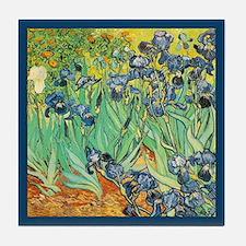 Vincent Van Gogh Irises Tile Coaster