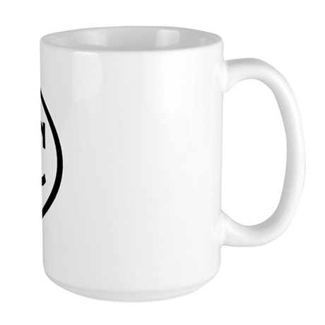 ETC Oval Large Mug