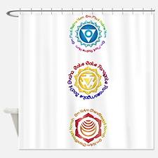 Mantra1 Mat Shower Curtain