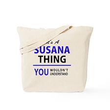 Cute Susana Tote Bag