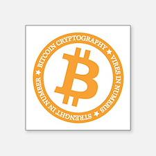 Type 2 Bitcoin Logo Sticker