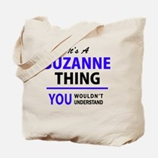 Cute Suzanne Tote Bag