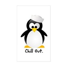 Chill Out Rectangle Decal