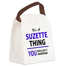 Cute Suzette Canvas Lunch Bag