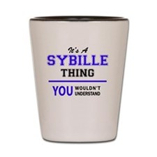 Unique Sybil Shot Glass