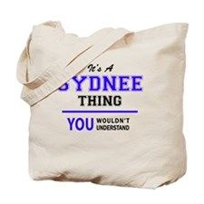 Cute Sydnee Tote Bag
