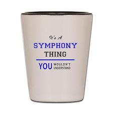 Unique Symphony Shot Glass
