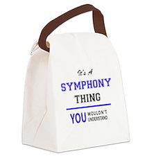 Cute Symphony Canvas Lunch Bag