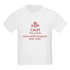 Keep calm you live in Westhampton Beach Ne T-Shirt