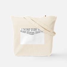 Sleep Tech Tote Bag