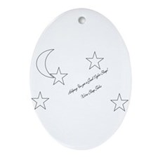 Sleep Tech Oval Ornament
