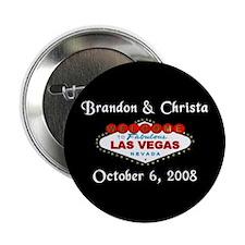 Las Vegas Save the Date Button