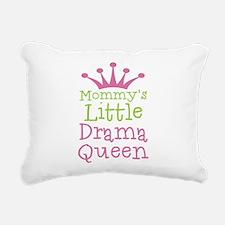 Little Drama Queen Rectangular Canvas Pillow