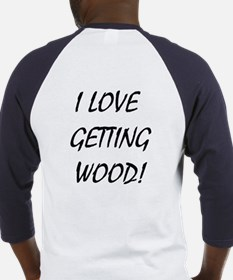Getting Wood Baseball Jersey