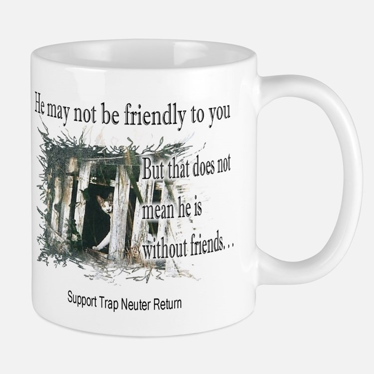 Feral Friend non affiliated Mug