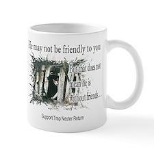 Feral Friend non affiliated Small Mug