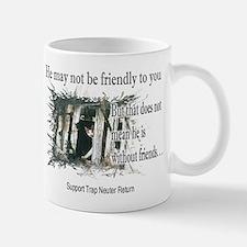 Feral Friend non affiliated Small Mugs