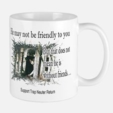 Feral Friend non affiliated Small Small Mug