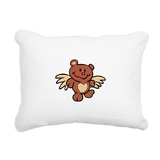 ANGEL BEAR Rectangular Canvas Pillow