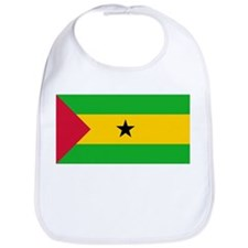 Sao Tome and Principe Flag Bib