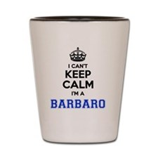 Funny Barbaro Shot Glass