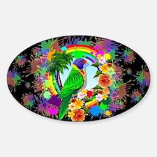Rainbow Lorikeet Parrot Art Decal