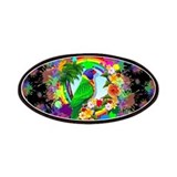 Rainbow lory Patches