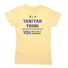 Cute Taniyah Girl's Tee
