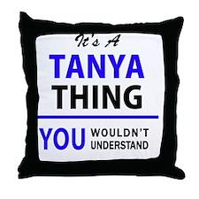 Unique Tanya Throw Pillow