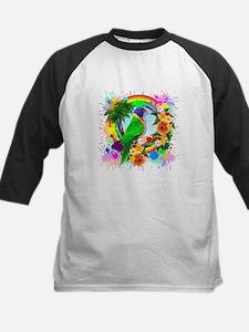 Rainbow Lorikeet Parrot Art Baseball Jersey