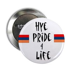 """Hye Pride 4 Life"" Button- Great stocking stuffer!"