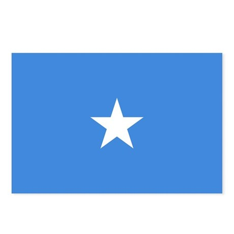 Somalia Flag Postcards (Package of 8)