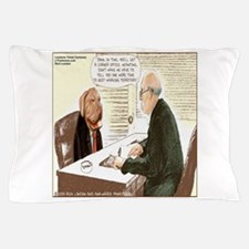 Upwardly Mobile Canine Pillow Case