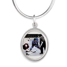 Ice Hockey Players and Referee Necklaces