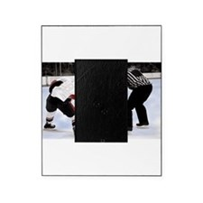 Ice Hockey Players and Referee Picture Frame