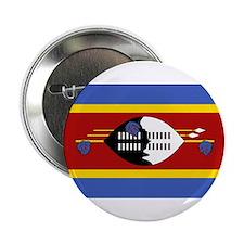 Swaziland Flag Button