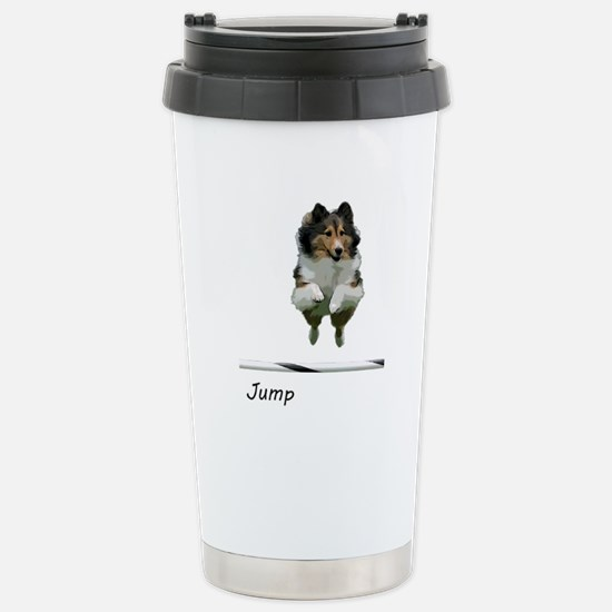 Sheltie Jump Mugs