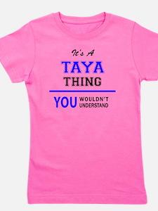 Cute Taya Girl's Tee
