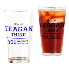 Cute Teagan Drinking Glass