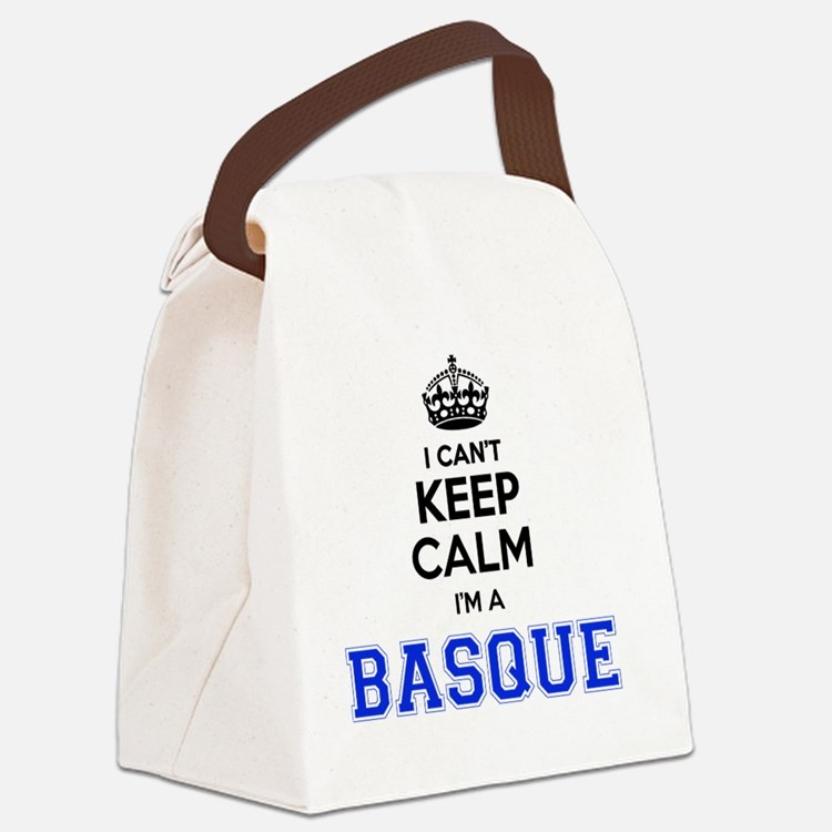 Cute Basque Canvas Lunch Bag
