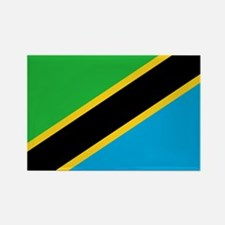 Tanzania Flag Rectangle Magnet (10 pack)