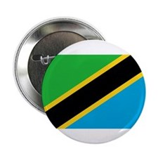 Tanzania Flag Button