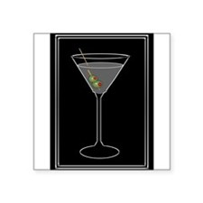 Modern Martini Sticker