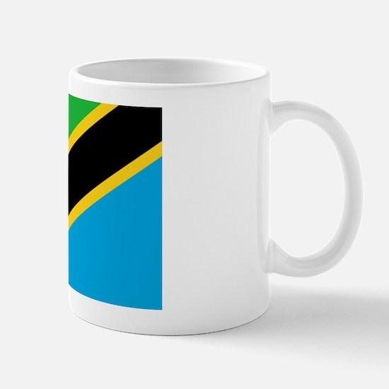 Tanzania Flag Mug