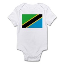 Tanzania Flag Infant Bodysuit