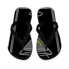 Modern Martini Flip Flops