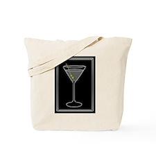 Modern Martini Tote Bag
