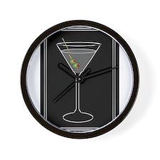 Modern Martini Wall Clock