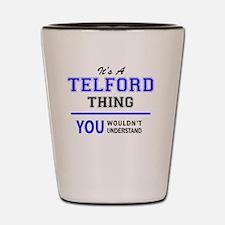 Funny Telford Shot Glass