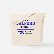 Funny Telford Tote Bag